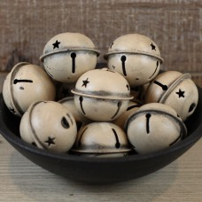Medium Beige Bells - Package of 12