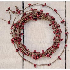 Pip Berry String Garland - Red
